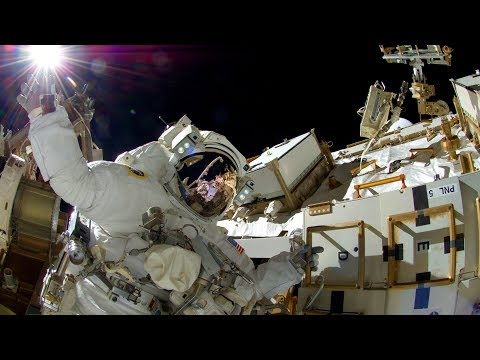 LIVE ISS U.S. Spacewalk # 48  Expedition 54 (Vande Hei and Kanai)
