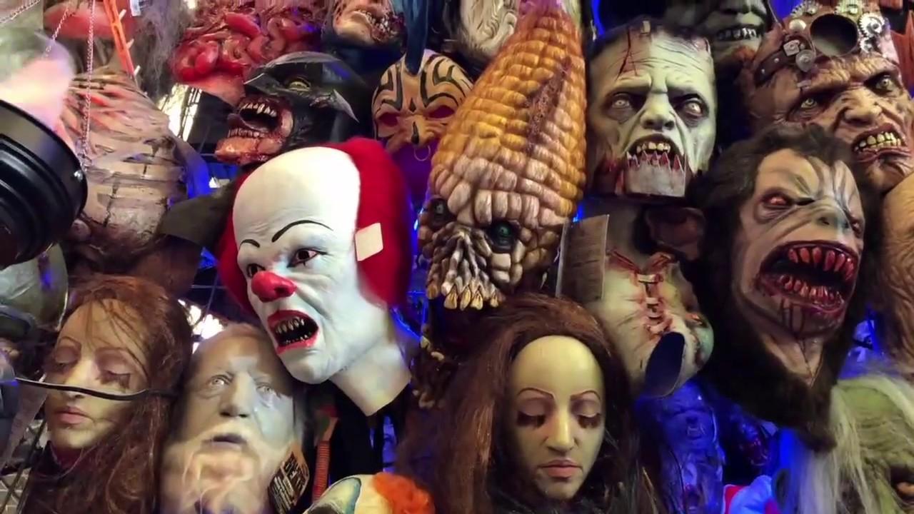 Mascaras Para Halloween En El Mercado De Sonora Youtube