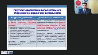 Разведение понятий внеурочной деятельности и дополнительного образования