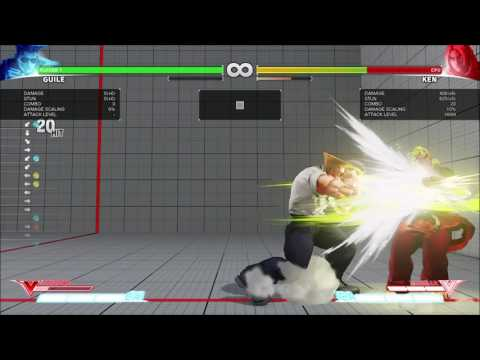 guile combo; jump in/VT/CA 611