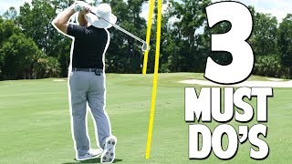 3 MUST DO'S WITH YOUR IRONS