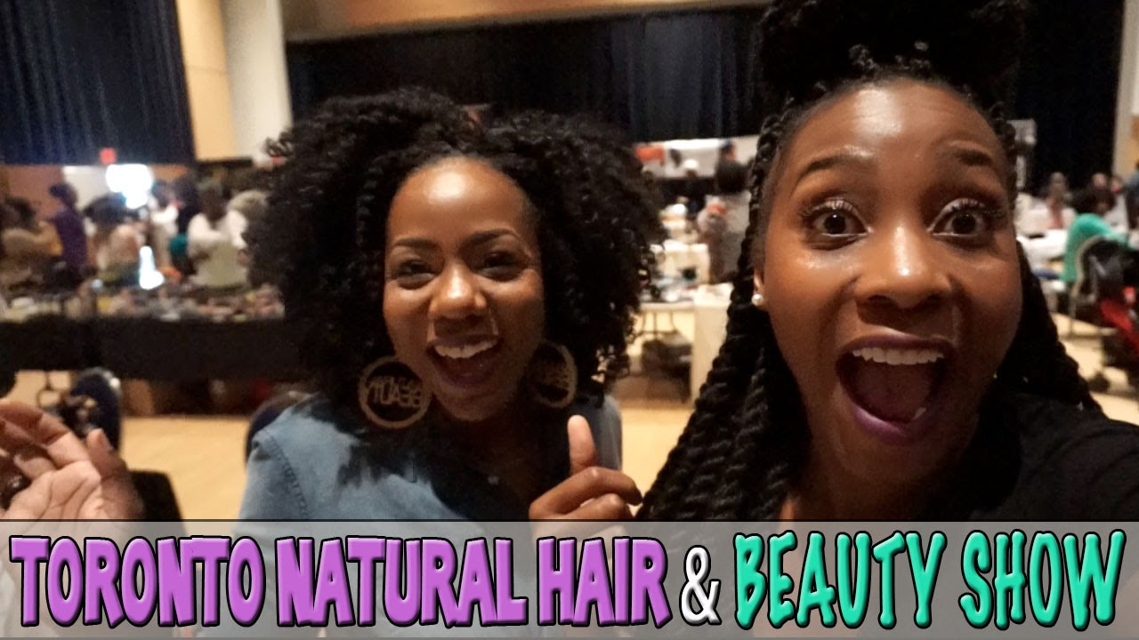VLOG #36 | Toronto Natural Hair & Beauty Show 2015 - YouTube