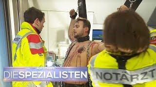 Maskierter, blutüberströmter Mann ans Kreuz gefesselt! Wer war das? | Die Spezialisten | SAT.1 TV