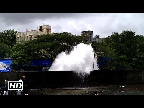 Siblings drown in Mumbai water pipeline burst