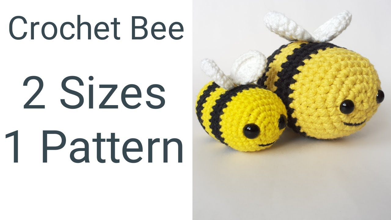 Small Amigurumi Bees