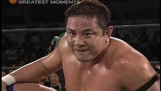NJPW GREATEST MOMENTS YUJI NAGATA vs MASATO TANAKA