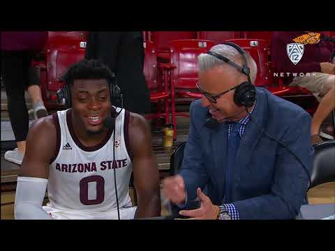 Arizona State's lead scorer against Cal State Fullerton, Luguentz Dort, reflects on feeling 'a...