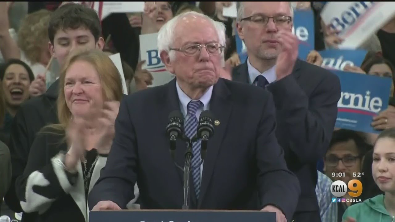 Bernie Sanders Scores Decisive Win At 2020 Nevada Democratic ...