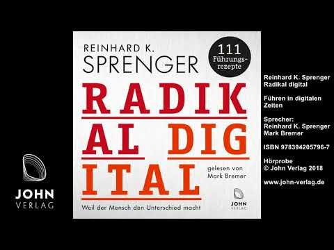 Radikal digital: Weil der Mensch den Unterschied macht - 111 Führungsrezepte YouTube Hörbuch Trailer auf Deutsch