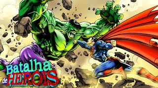 Minecraft : HULK vs SUPERMAN - BATALHA DE HERÓI ( #TeamHulk ou #TeamSuperman )