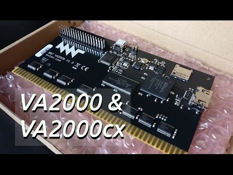 Introduction of mntmn VA2000 + cx and installation into my Amiga 3000