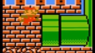 Super Mario Bros. 2 (JP) (FDS): Glitch levels with parts of actual levels (PART 3 - Worlds 1 to 4)