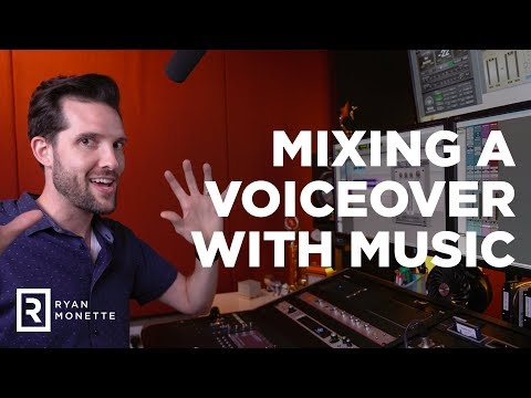How to Mix Dialogue or a Voiceover with Music