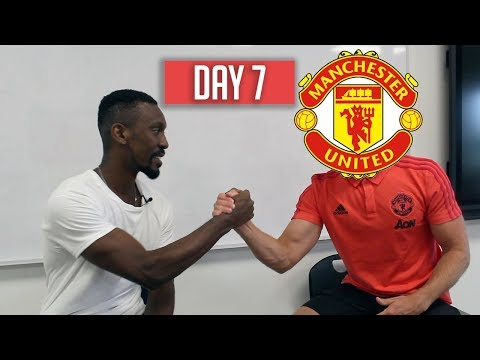 HOW TO BE AS FIT AS A MANCHESTER UNITED PLAYER - DAY 7