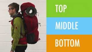 How to pack your rucksack - Sam Sykes