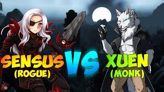 ♣ Sensus | WoW WoD Rogue PvP | Rogue vs. WW Monk Duels! (WoW Combat/Subtlety Rogue PvP Duels)