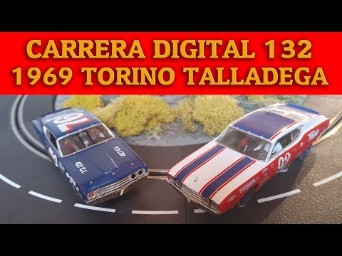Carrera Digital 132 Slot Car Review – 1969 Torino Talladega