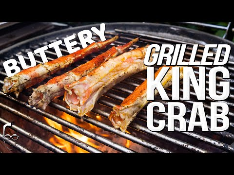 GIANT KING CRAB LEGS – EASY (BUT IMPRESSIVE!) APPETIZER RECIPE   SAM THE COOKING GUY 4K