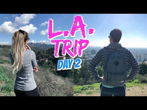 HIKING IN HOLLYWOOD!! // L.A. TRIP DAY 2