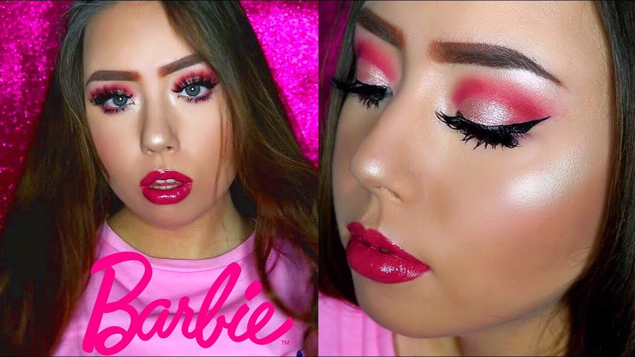 BARBIE MAKEUP TUTORIAL🎀 , Trucco Carnevale 2018