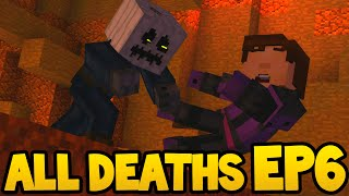 Minecraft Story Mode - ALL DEATH SCENES - Episode 6