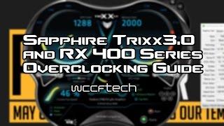 overclocking rx 400 series with sapphire trixx 6 1 rx 460 rx 470 rx 480