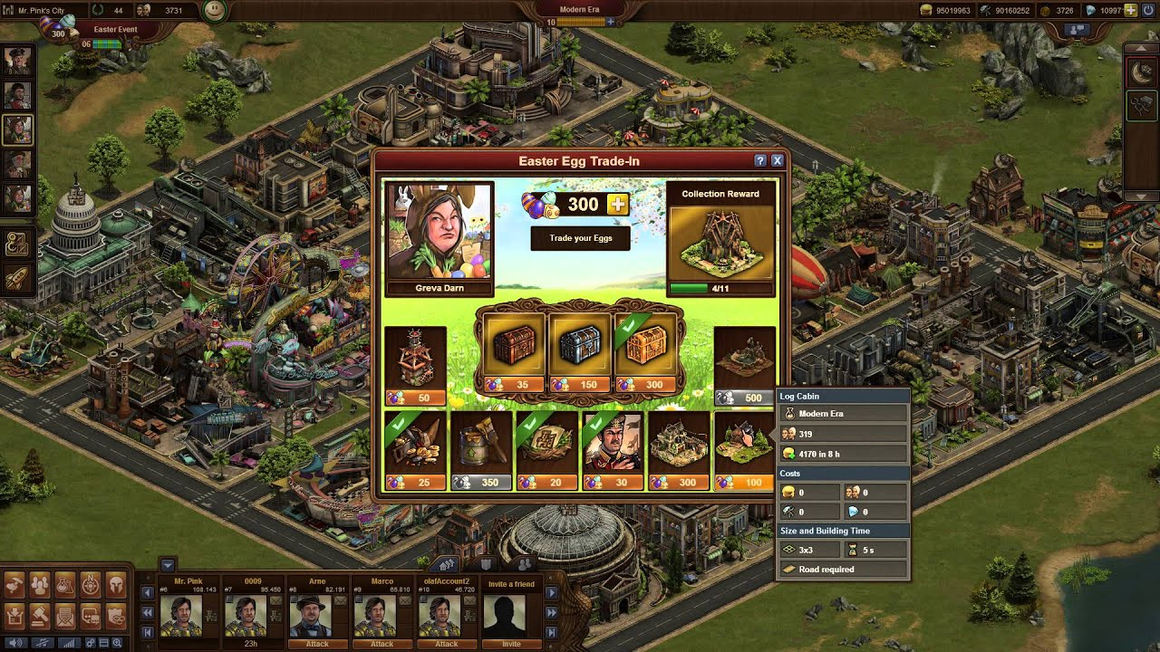 Forge of Empires Easter Event 2014 - YouTube
