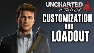 Uncharted 4 Multiplayer -  CUSTOMIZATION, LOADOUTS, WEAPONS, SIDEKICKS, &  MYSTICAL