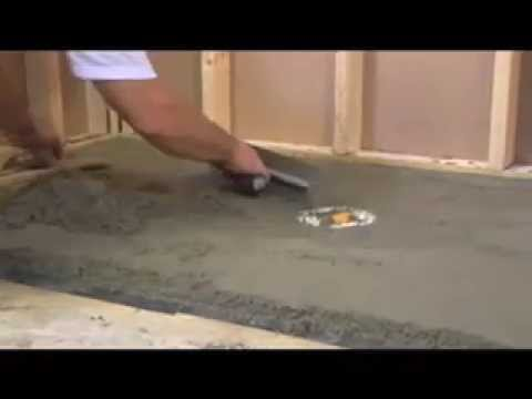 how to tile a shower floor tile installation prep 1 youtube. Black Bedroom Furniture Sets. Home Design Ideas