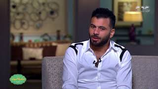 صاحبة السعادة | شاهد ماذا قال عماد متعب عن الهدف الذي اهداه له حسام غالي في ماتش وادي دجلة