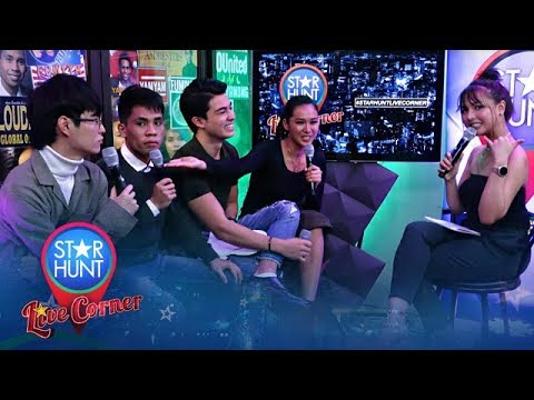 Star Hunt  Corner hosted by Tori with Lou Andre Yamyam and Fumiya  June 19 2019