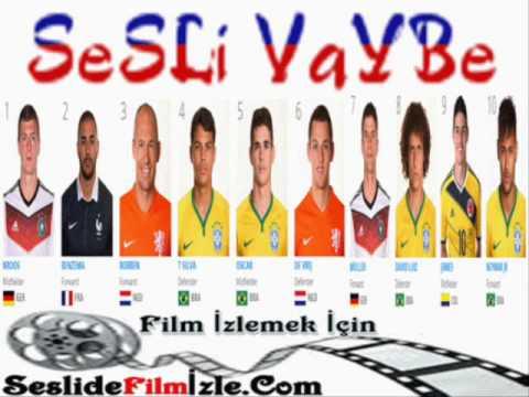 2014 Dünya Kupası'nın en iyi futbolcu adayları