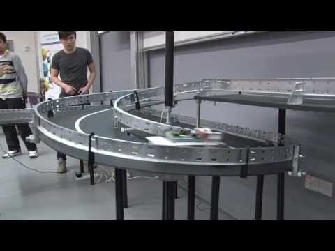 Line Following Robot Race Day 2015