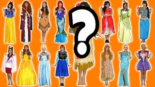 ALL DISNEY PRINCESS COSTUMES FOR HALLOWEEN 2018. (Which is Your Favorite?) Totally TV