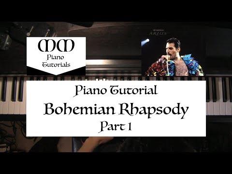 Bohemian Rhapsody (Queen) ~ Piano Tutorial (Part 1)