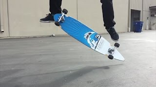КИКФЛИП НА ЛОНГБОРДЕ ?!!! [ На Русском ] Brailleskateboarding