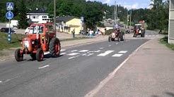 Traktorkavalkaden i Kimito 4.7.2015