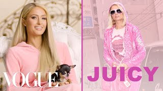 Paris Hilton Talks About the Juicy Couture Tracksuit | Vogue