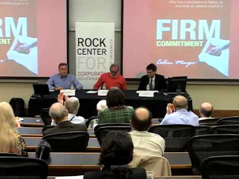 Rock Center | Firm Commitment: Why the corporation is failing us and how to restore trust in it