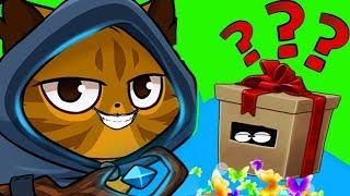 НОВАЯ ИГРА  Castle Cats про ВОЛШЕБНЫХ КОТОВ против ЗОМБИ собак МНОГО МОНЕТ игровой мульт дети FGGTV