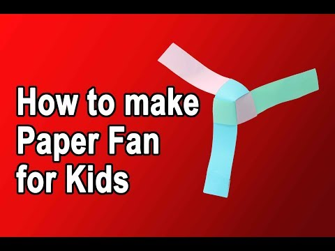 Paper Fan For kids ll  Paper Windmill