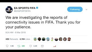 EA SERVERS DOWN AGAIN 8th MARCH 2018 | EA SERVERS DOWN FIFA, BATTLEFIELD & MORE