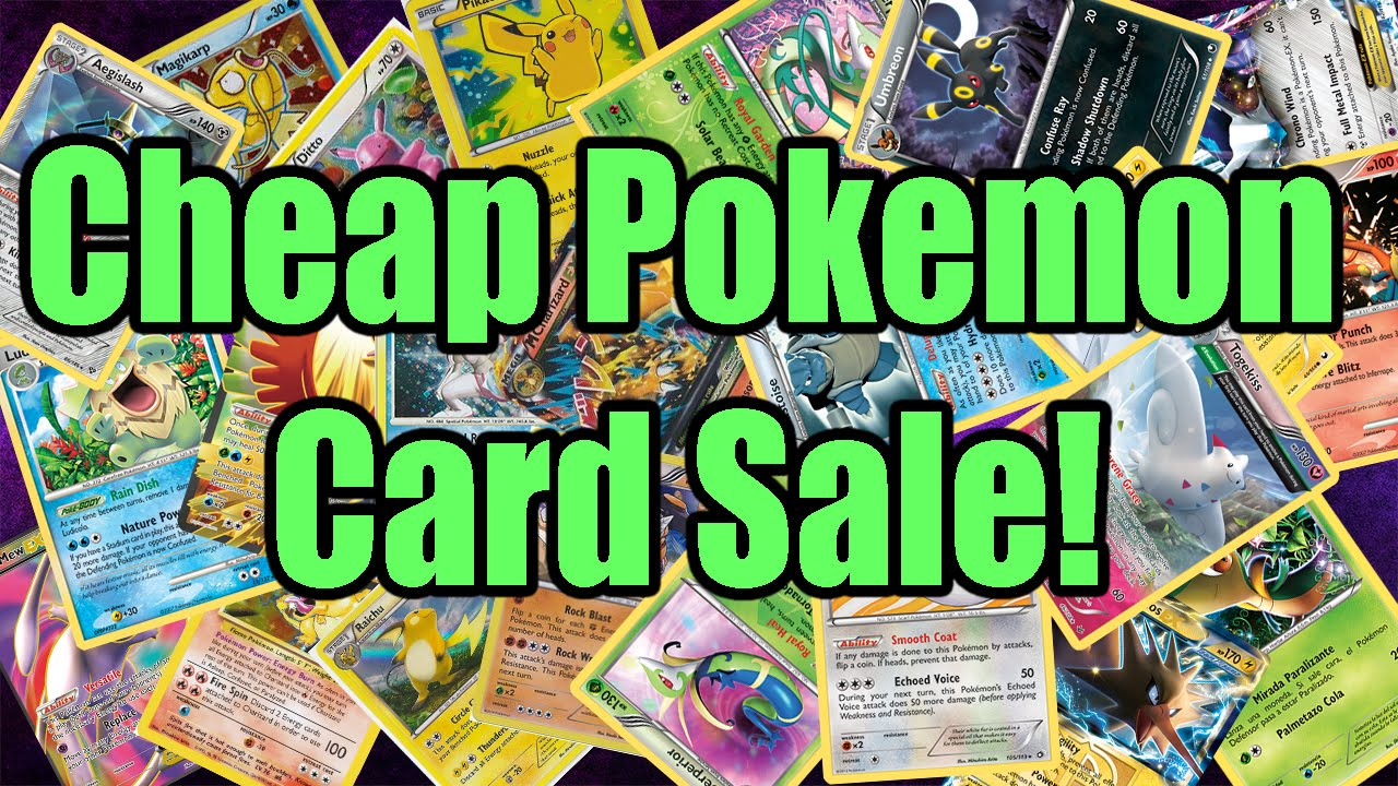 Pokemon cards cheap pokemon card sale binder april 2016 for Pictures for sale cheap