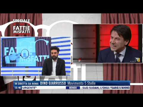 Dino Giarrusso (M5S) a Fatti e Misfatti 28/2/2018