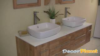 Bellezza Bathroom Vanity - Natural Wood - Decorplanet.com