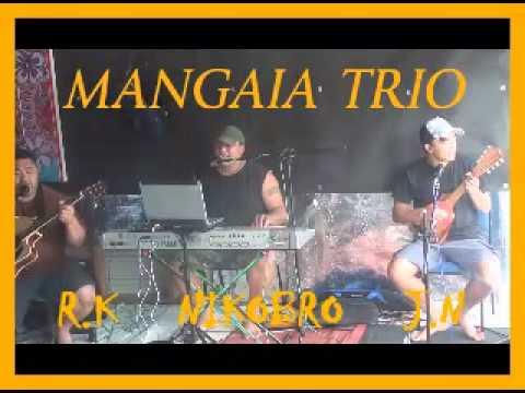COOK ISLAND MUSIC - MANGAIA TRIO - LIVE PRACTISE N.Z