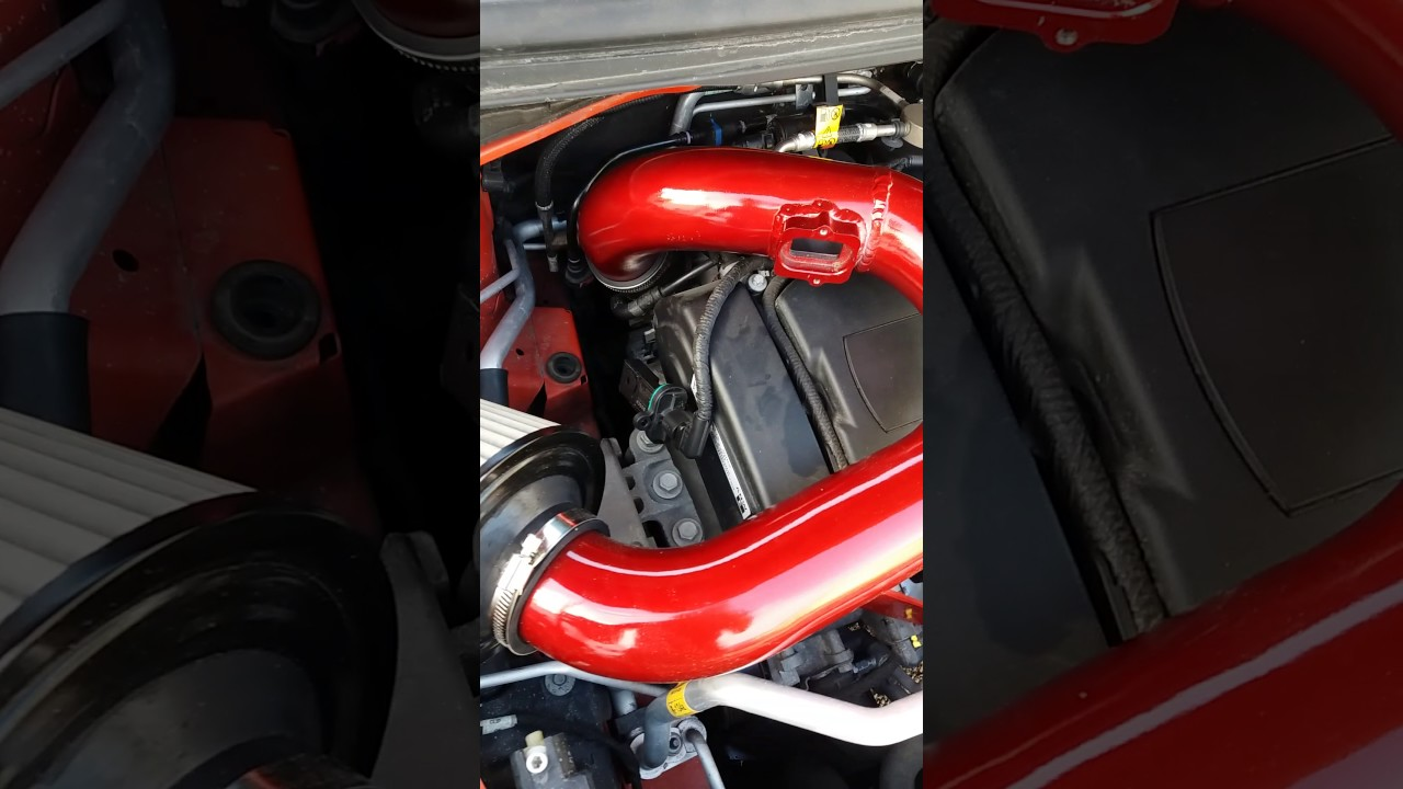 Chevy sonic cold air intake install