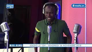 iRadio : Midi Keng du 16 Novembre avec Khalifa DIAKHATE