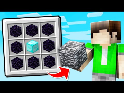 50 Crafting Recipes You Probably Didn't Know in Minecraft!