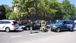 Постановочное задержание VIP-кортежа | Николаев, 06.07.18